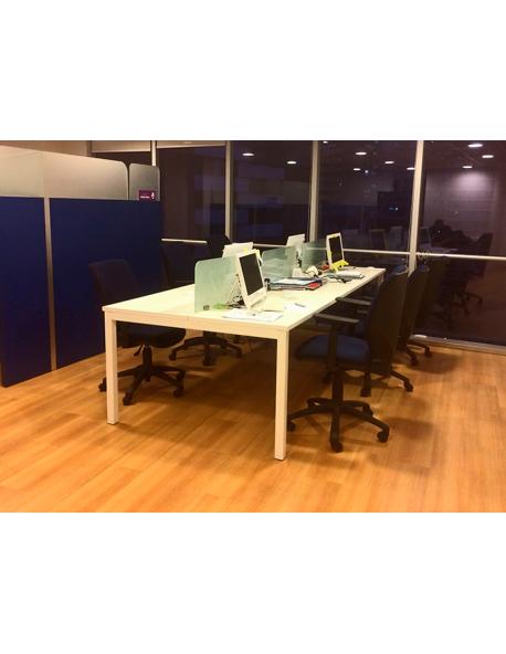 Mesa de trabajo seis personas